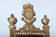 Pair of Italian Neoclassic Giltwood Girandole Mirrors - 358511