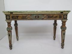 Pair of Italian Neoclassic Style Polychrome Painted Console Tables - 1912640