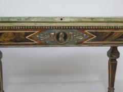 Pair of Italian Neoclassic Style Polychrome Painted Console Tables - 1912642