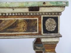 Pair of Italian Neoclassic Style Polychrome Painted Console Tables - 1912645