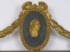 Pair of Italian Neoclassical Antique Giltwood Mirrors Looking Glasses 19th C  - 1091433
