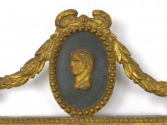 Pair of Italian Neoclassical Antique Giltwood Mirrors Looking Glasses 19th C  - 1091438