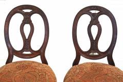 Pair of Italian Neoclassical Walnut Side Chairs - 1847593