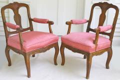 Pair of Italian Poltrone Piedmontese Armchairs - 1837539