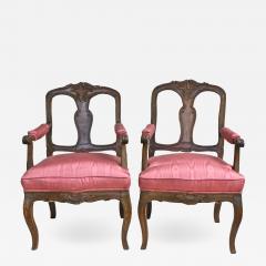Pair of Italian Poltrone Piedmontese Armchairs - 1839921