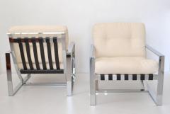 Pair of Italian Postmodern Club Chairs - 635047