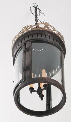 Pair of Italian Reproduction Iron and Gilt Lanterns - 1937027