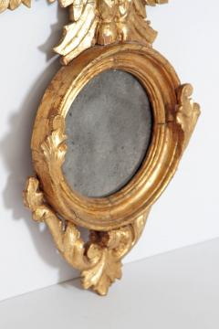 Pair of Italian neoclassic Giltwood Mirrors with Eagles Wings Outstretched - 1996287