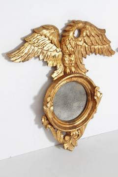 Pair of Italian neoclassic Giltwood Mirrors with Eagles Wings Outstretched - 1996288