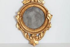 Pair of Italian neoclassic Giltwood Mirrors with Eagles Wings Outstretched - 1996296