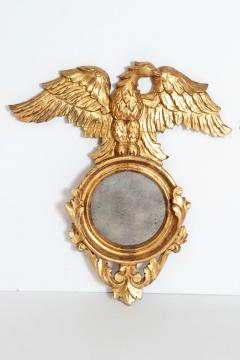Pair of Italian neoclassic Giltwood Mirrors with Eagles Wings Outstretched - 1996297