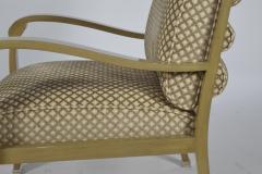 Pair of J Robert Scott Deco Lounge Chairs - 1239027