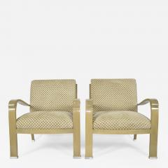 Pair of J Robert Scott Deco Lounge Chairs - 1241869