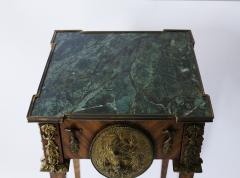 Pair of Kingwood bronze dor marble mounted side Louis XVI tables - 2042025