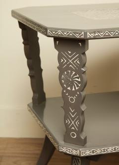 Pair of Lacquered Mexican Tables - 1027113