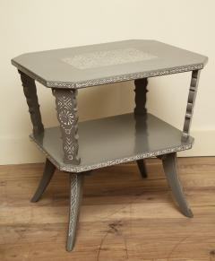 Pair of Lacquered Mexican Tables - 1027115