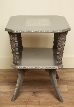 Pair of Lacquered Mexican Tables - 1027117