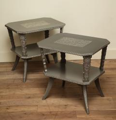 Pair of Lacquered Mexican Tables - 1027118