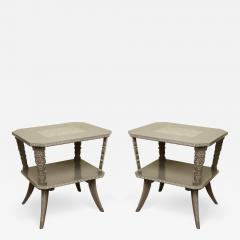 Pair of Lacquered Mexican Tables - 1123314