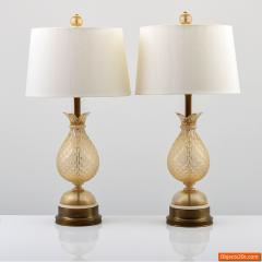 Pair of Lamps Attributed to Barovier Toso - 749934