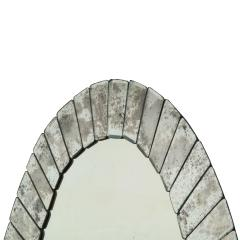 Pair of Large Artisan Venetian Art Deco Sunset Mirrors 1930s - 2140299