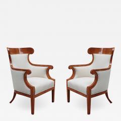 Pair of Large Biedermeier Armchairs - 1379864