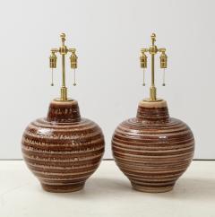 Pair of Large Ceramic Lamps - 1924255
