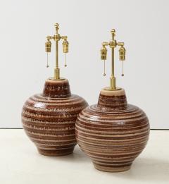 Pair of Large Ceramic Lamps - 1924256