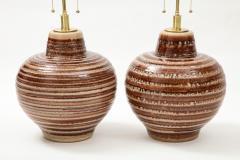 Pair of Large Ceramic Lamps - 1924258