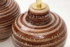 Pair of Large Ceramic Lamps - 1924259