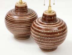 Pair of Large Ceramic Lamps - 1924262