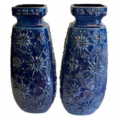 Pair of Large Mid Century Vases - 1164206