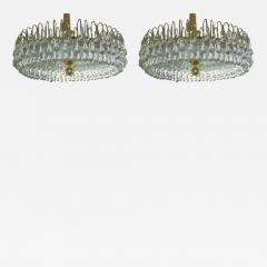 Pair of Large Moderne Light Fixtures - 657613