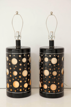 Pair of Large mid century Modern Lamps  - 1191813