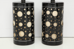 Pair of Large mid century Modern Lamps  - 1191814