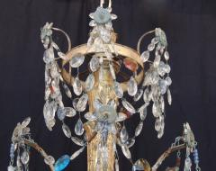 Pair of Late 18th C Italian Genovese Chandeliers - 212731