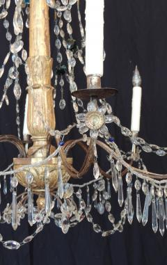 Pair of Late 18th C Italian Genovese Chandeliers - 212734
