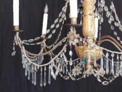 Pair of Late 18th C Italian Genovese Chandeliers - 212735