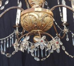 Pair of Late 18th C Italian Genovese Chandeliers - 212736