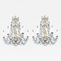 Pair of Late 18th C Italian Genovese Chandeliers - 213099