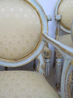 Pair of Late 18th Century Italian Neoclassic Armchairs - 1912487