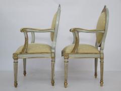 Pair of Late 18th Century Italian Neoclassic Armchairs - 1912490
