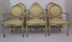 Pair of Late 18th Century Italian Neoclassic Armchairs - 1912493