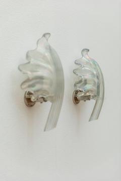 Pair of Leaves Barovier Sconces - 1835051