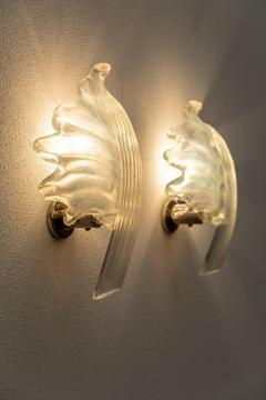 Pair of Leaves Barovier Sconces - 1835053