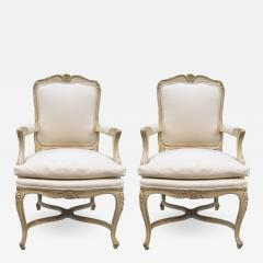Pair of Louis XIV Style Armchairs - 1160755