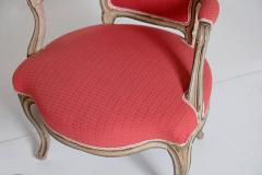 Pair of Louis XV Painted Fauteuils - 2003126