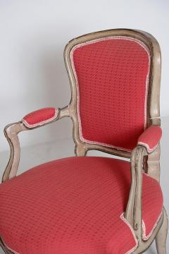 Pair of Louis XV Painted Fauteuils - 2003128