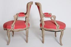 Pair of Louis XV Painted Fauteuils - 2003131