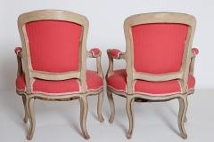 Pair of Louis XV Painted Fauteuils - 2003132